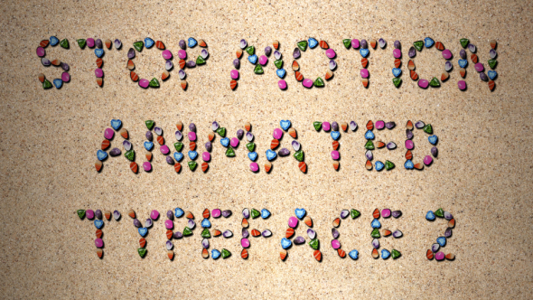 Stop Motion Typeface - 1