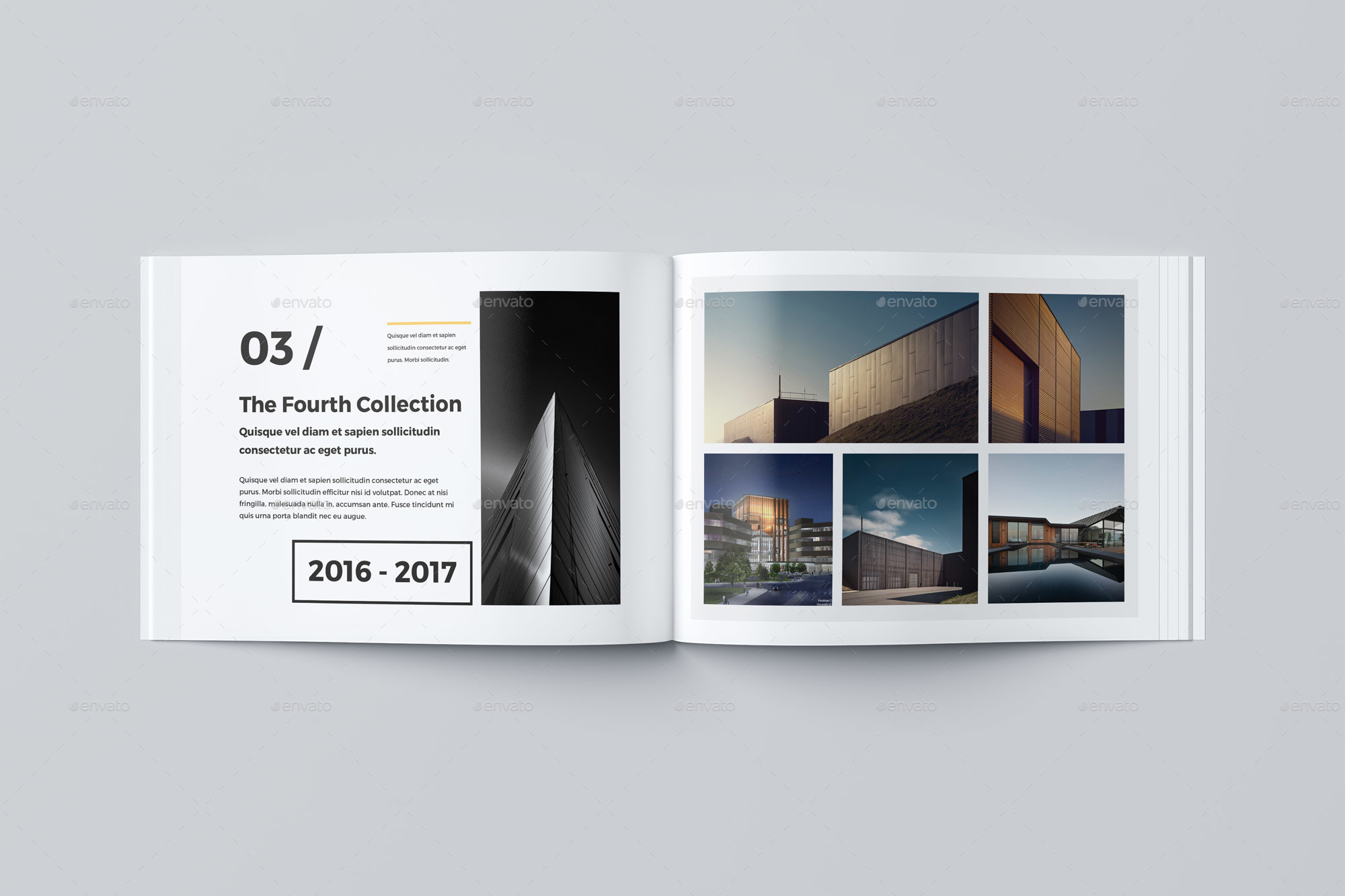 Our Portfolio Architecture 24 Pages A4 Amp A5 By Pro Gh