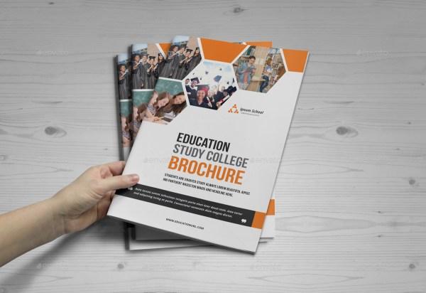 Education Brochure Design Janysultana Graphicriver
