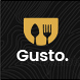 Download Gusto - Restaurant, Café, Bar, Seafood Restaurant PSD template from ThemeForest