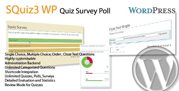 WP SQuiz3 Quiz Survey Poll Jogjafile
