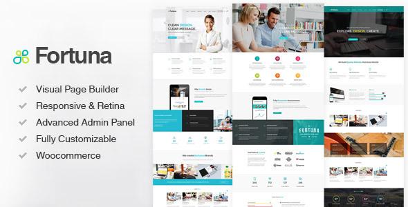 Fortuna v1.70 – Multi-Purpose Responsive WordPress Theme