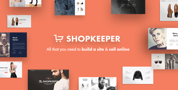 Shopkeeper v1.7 – Responsive WordPress Theme