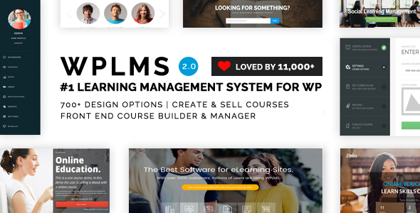 WPLMS Learning Management System - nulledscripts365.com