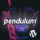 Download Pendulum - Responsive Music Wordpress Theme for Bands and Djs from ThemeForest