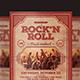 Download Rock'n Roll Music Flyer from GraphicRiver