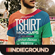 Download Urban T-Shirt Mockups from GraphicRiver