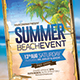 Download Summer Event Flyer from GraphicRiver