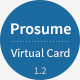Download Prosume - Resume / CV & Virtual Business Card (vCard) from ThemeForest