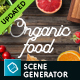 Download Organic Food Mockup & Hero Images Scene Generator from GraphicRiver