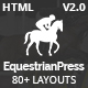 Download EquestrianPress | Equestrian & Horse Riding Training Responsive HTML5 Template from ThemeForest