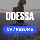 Download Odessa - Personal Resume, CV, VCard WordPress Theme from ThemeForest
