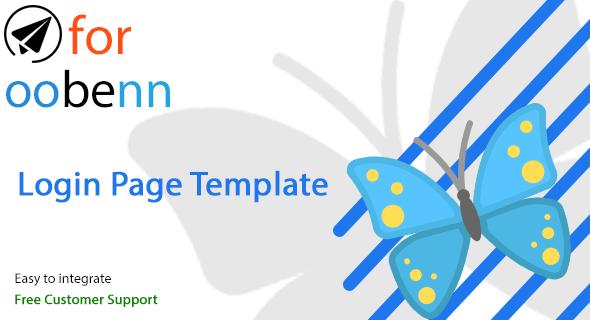 preview - Login & Register Page Plugin for OOBENN
