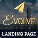 Download EVOLVE - Multipurpose Responsive HTML Landing Pages from ThemeForest
