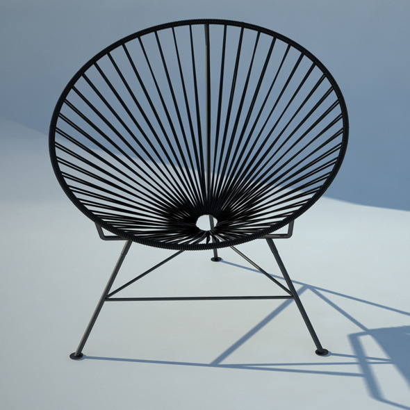 s item acapulco wire chair
