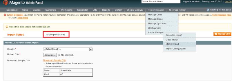 Magento City and Region Manager (Magento1 and Magento2) - 13