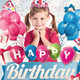 Download Kids Birthday Invitation Party Flyer from GraphicRiver