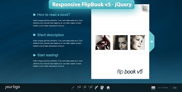 Responsive FlipBook v5 - jQuery - CodeCanyon Item for Sale