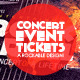 Download Concert & Event Tickets/Passes - Version 1 from GraphicRiver