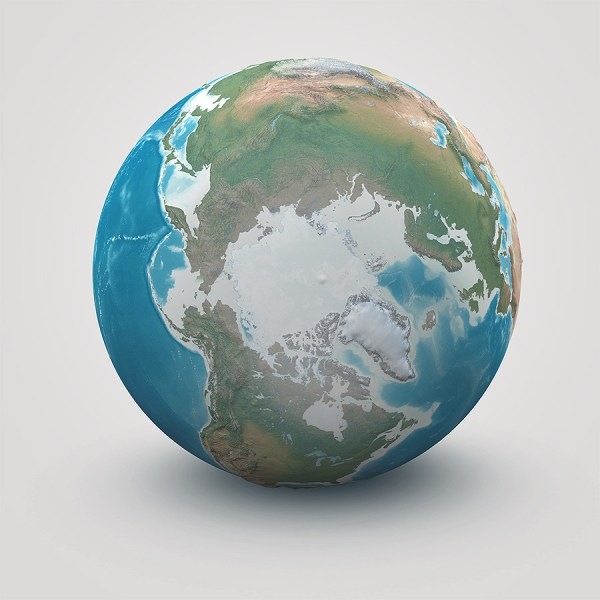 Planet Earth Realistic 3D World Globe by Giallo 3DOcean