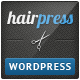 Download HairPress - WordPress Theme for Hair Salons from ThemeForest