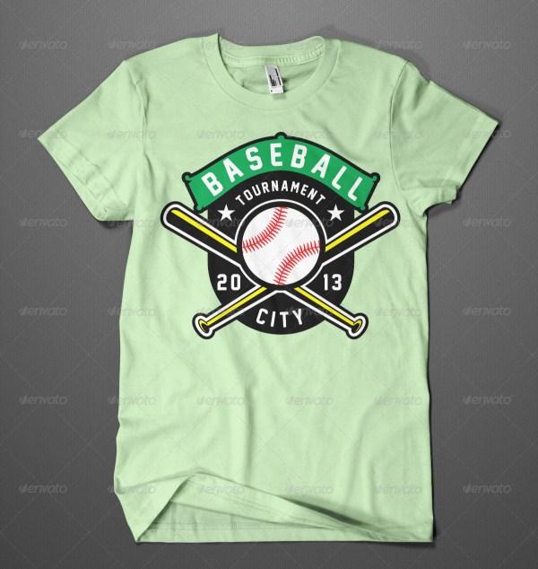 Baseball Tournament Shirt Designs