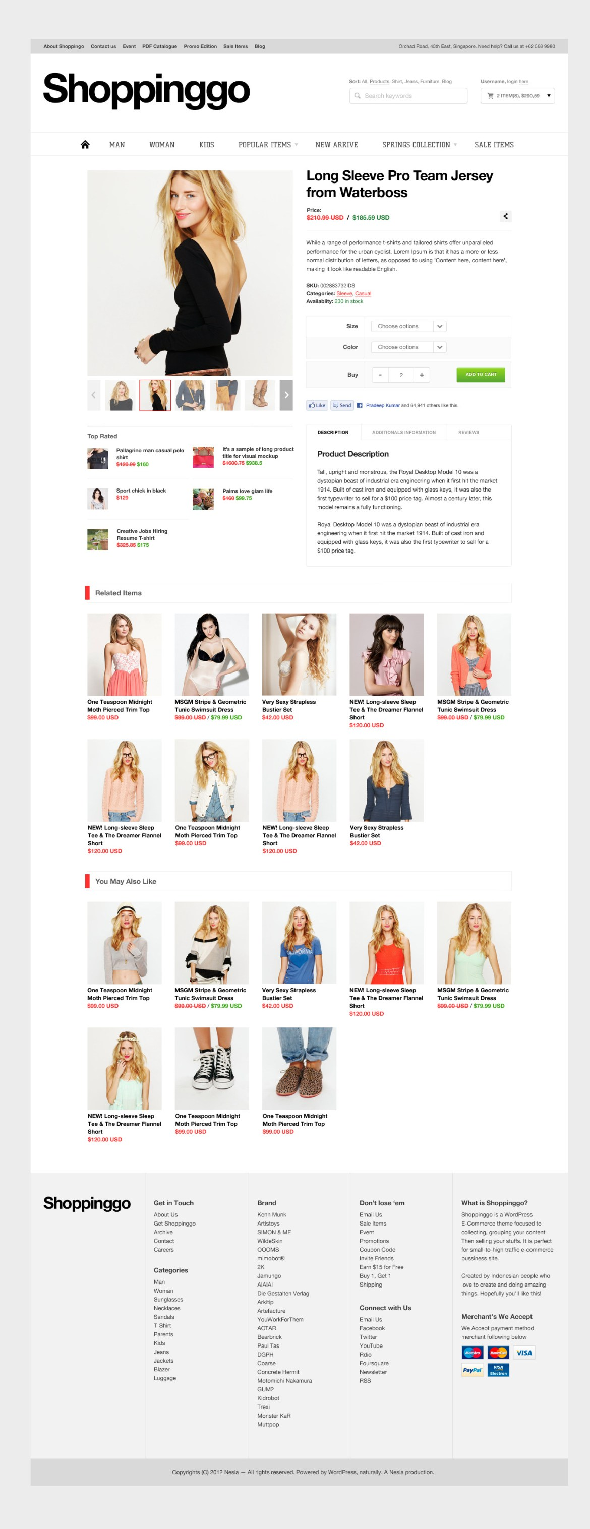 Shoppinggo - WordPress eCommerce Theme - 16