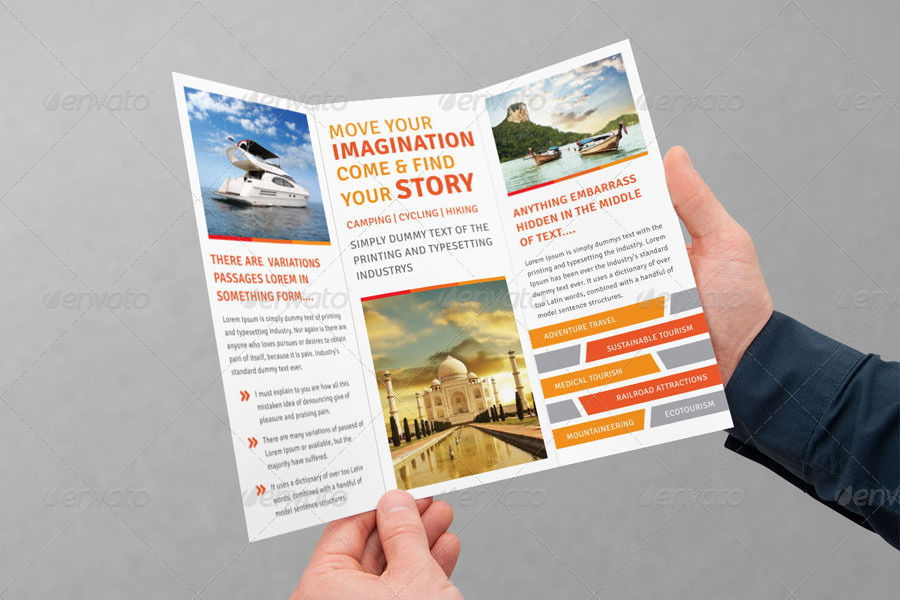 Tourism Tri Fold Brochure Volume 1 By Femo GraphicRiver