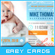Download Baby Pictograph - Baby Announcement Card from GraphicRiver