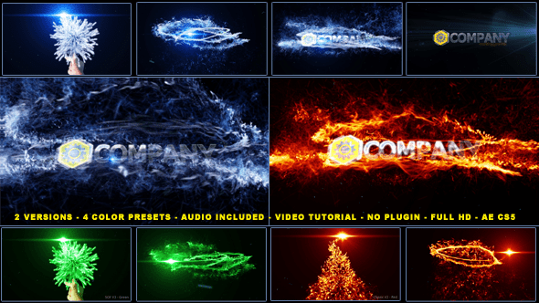 After Effects Project Files Magical Particles Vortex