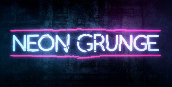 Edgy Girl Wallpaper Neon Grunge By Tgarretteaton Videohive