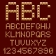 Download 3D Gold Alphabets Letters from GraphicRiver