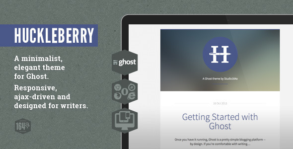 Huckleberry Ghost Theme