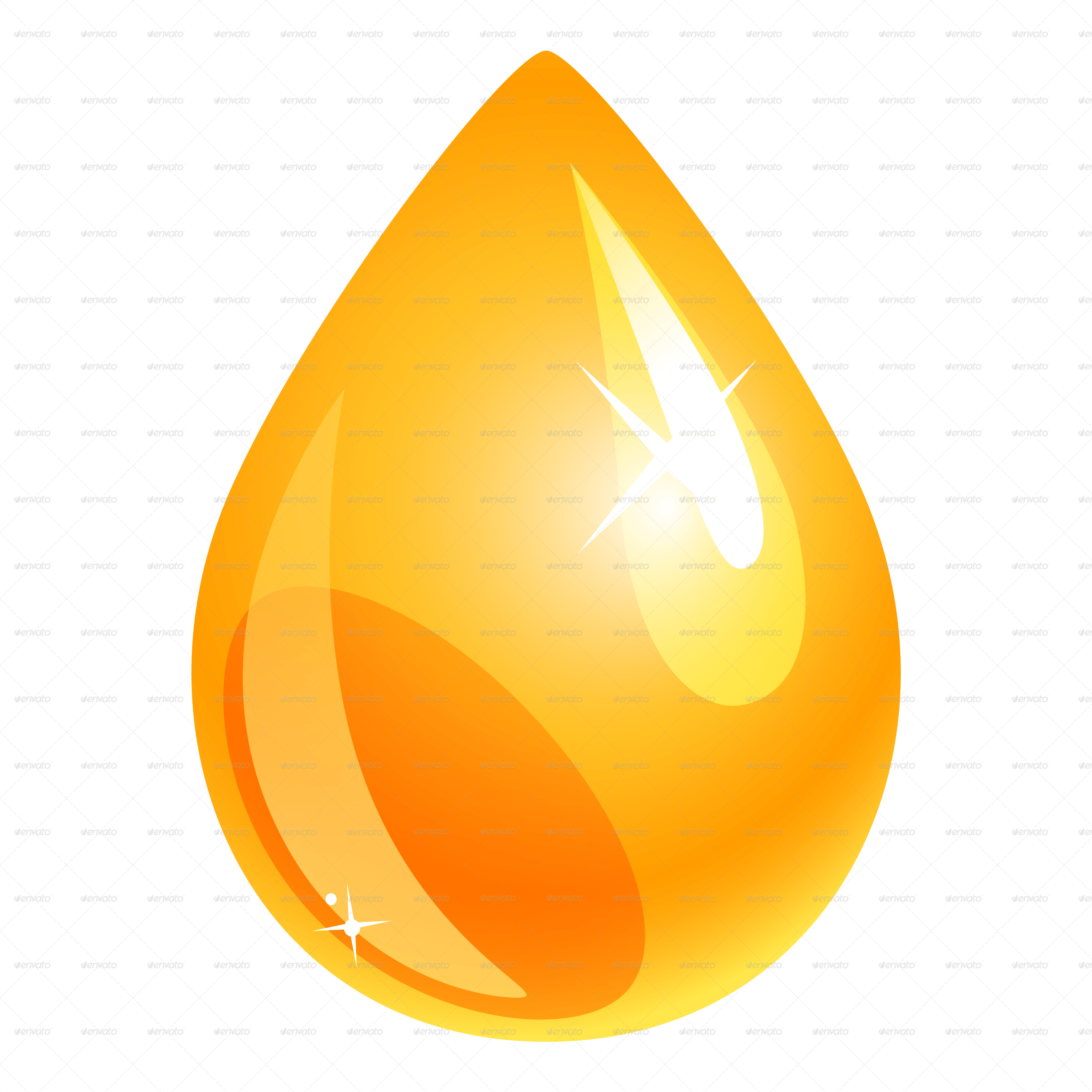 Oil And Petroleum Drops By Valru GraphicRiver