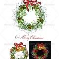 Christmas wreath illustration christmas wreath christmas