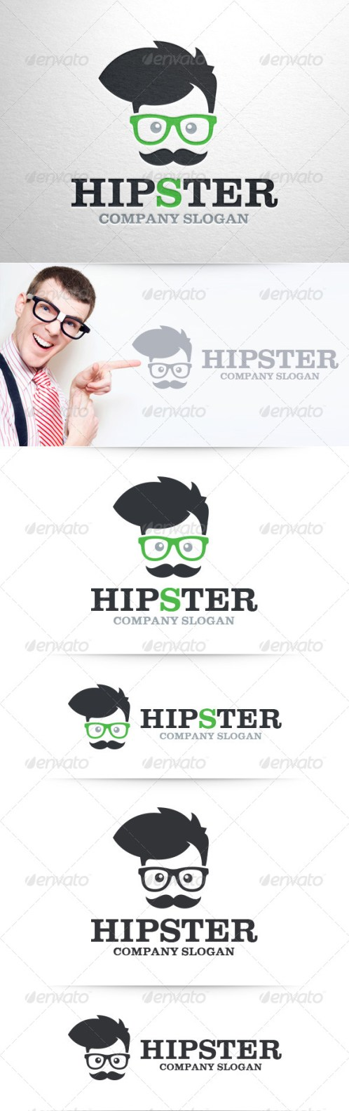 Logotipos Hipsters.