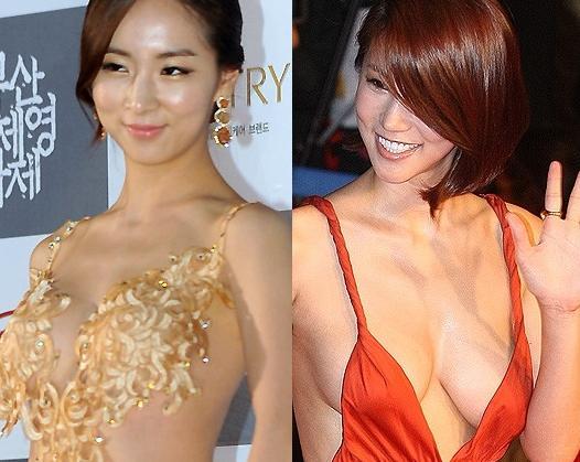 Is Actress Bae So Eun S Revealing Dress Going To Make Her