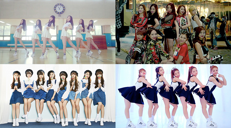 [Video] 53 K-Pop Girl Groups That Made Their Debut in 2015