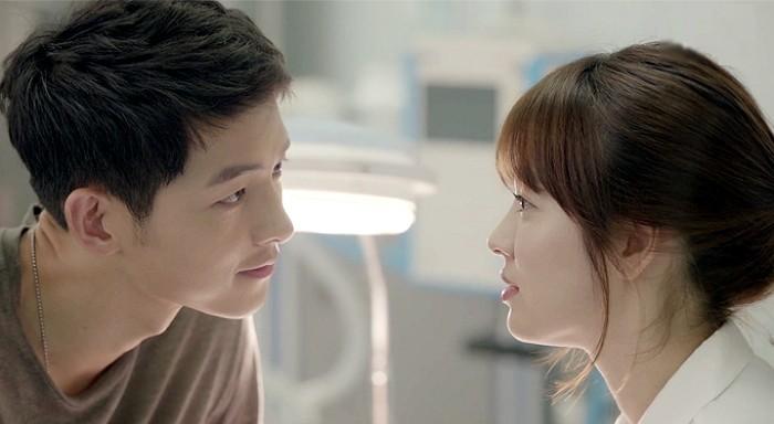 Pieśń Joong Ki pytanie, czy Idealny Rodzaj Has Changed po pracy z tą Piosenki Hye Kyo