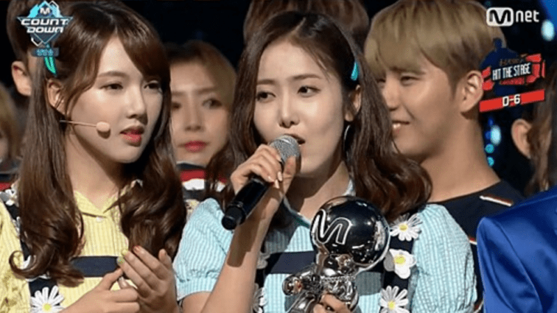 "GFRIEND Wins No. 1 On ""M!Countdown""; Performances By Fei, FTISLAND, SEVENTEEN, And More"