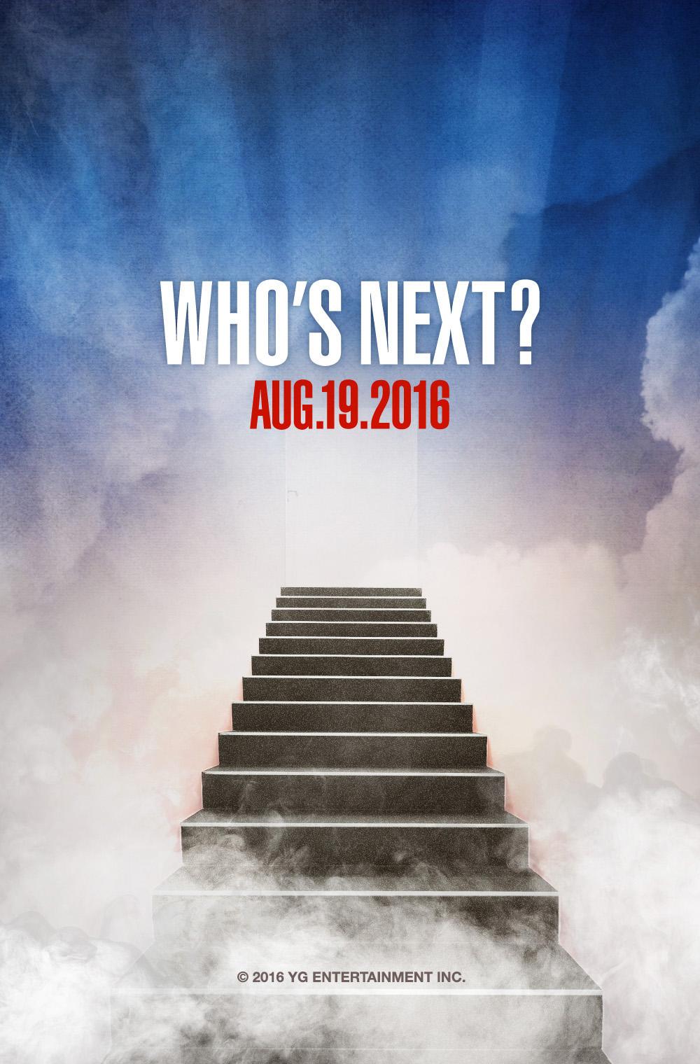 YG Teases Who's Next?