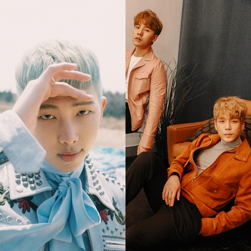 BTS's Rap Monster Revealed To Have Co-Written Homme's New Song