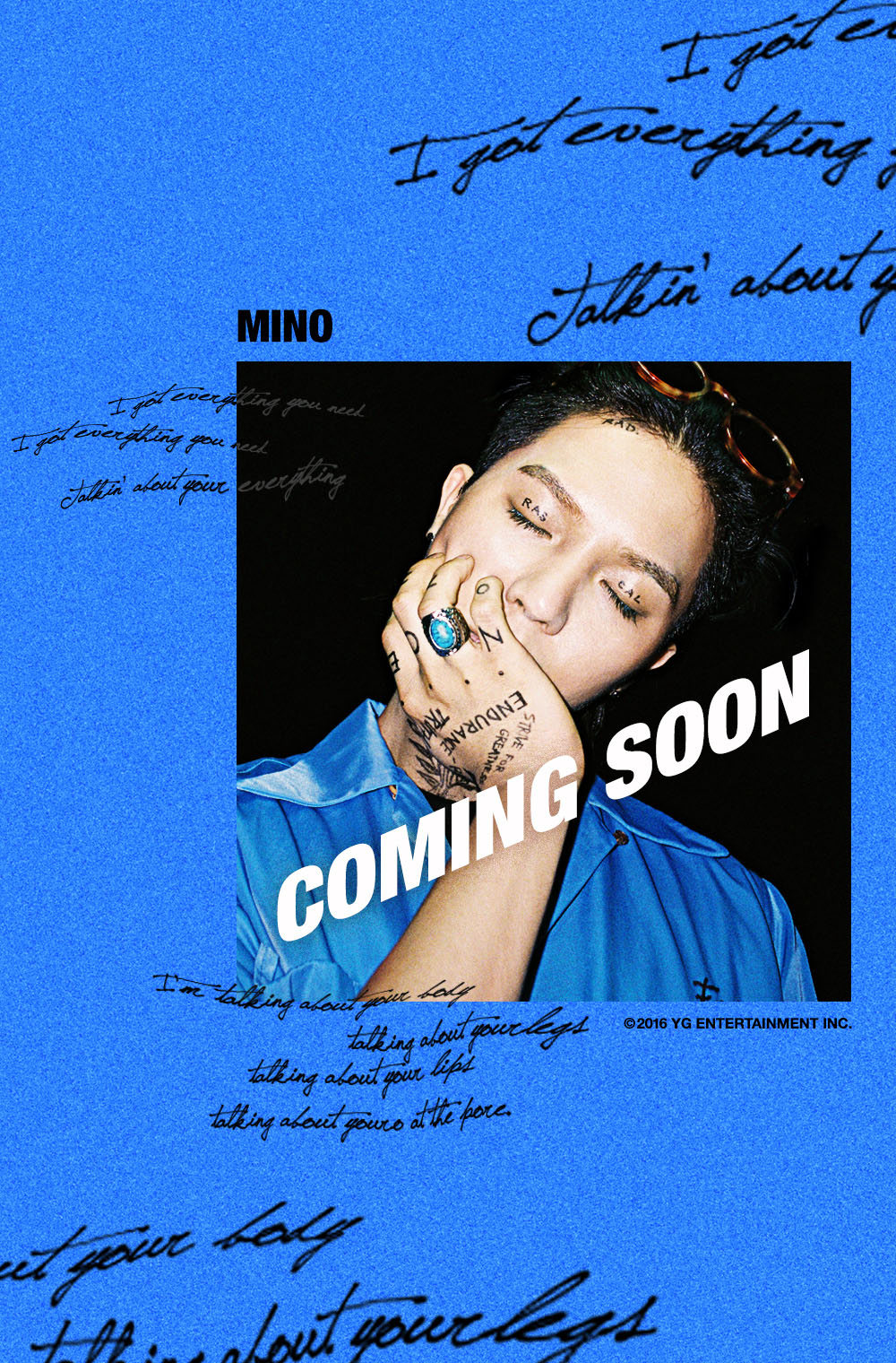 WINNER's Song Mino Reveals Intriguing Teasers For Solo Debut