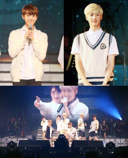 MYTEEN at Baek Ji Young's Concert