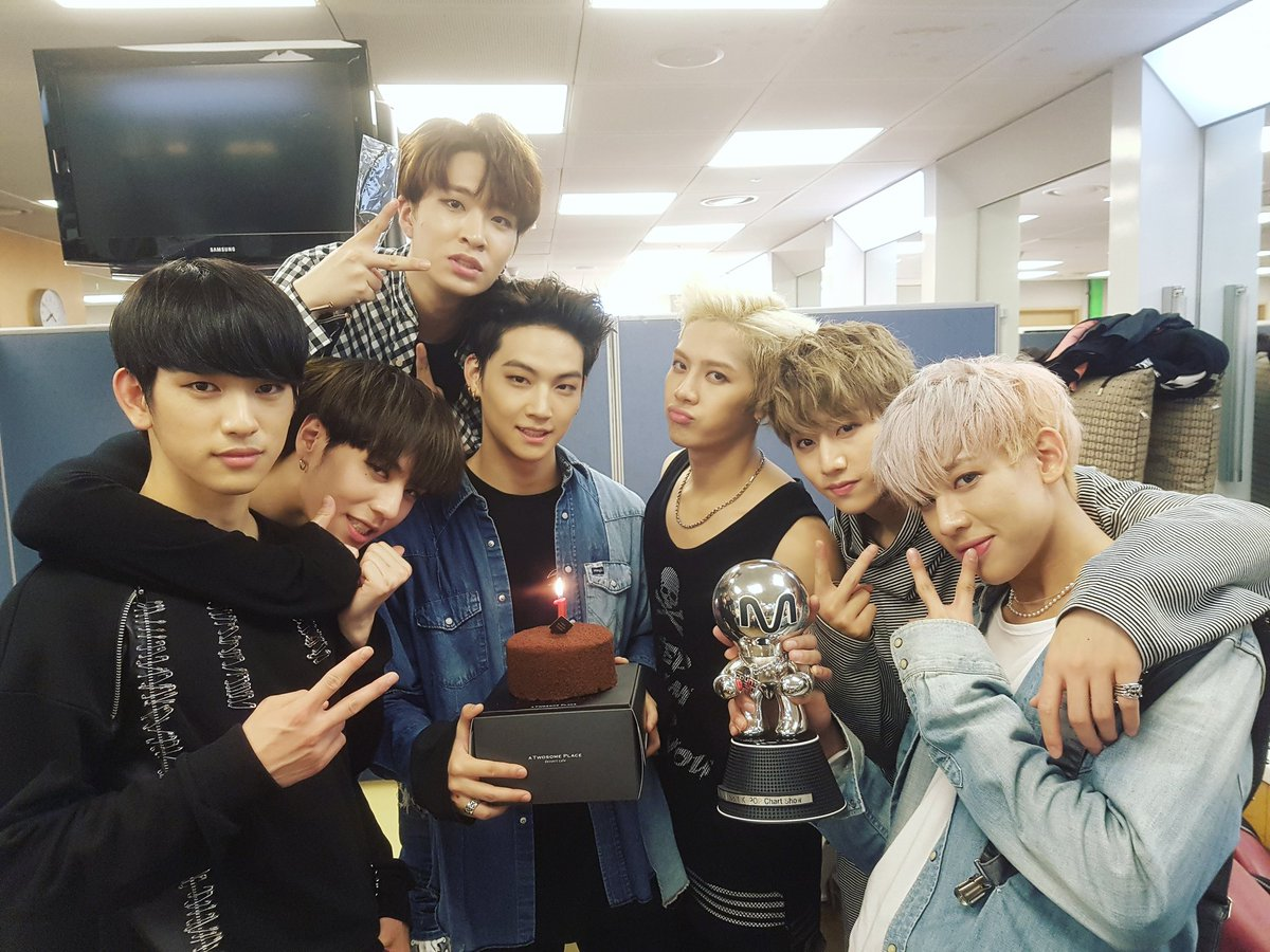 "GOT7 Takes 1st Win For ""Hard Carry"" On ""M!Countdown,"" Comeback Performances By SHINee, Ailee, And MONSTA X"