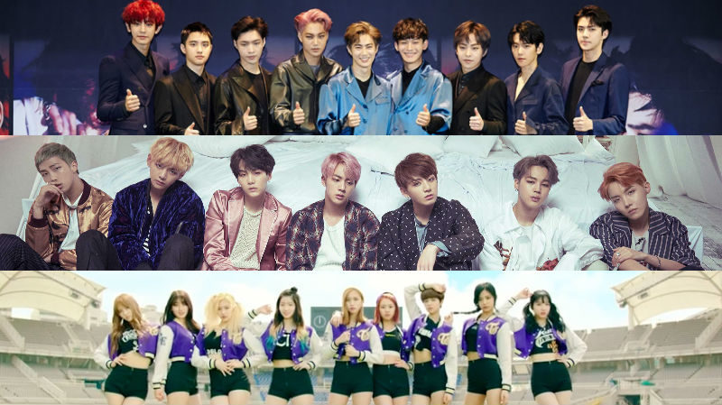 Watch: EXO, BTS, TWICE, And More Perform At Korean Music Wave Concert
