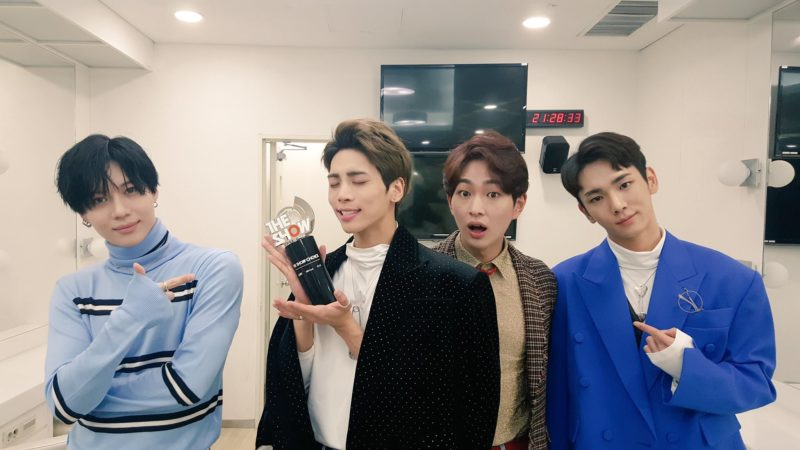 "Watch: SHINee Grabs 1st Win For ""1 Of 1"" On ""The Show"""