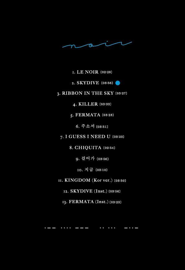 B.A.P track list