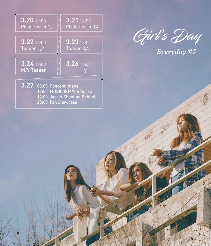 girls day comeback schedule