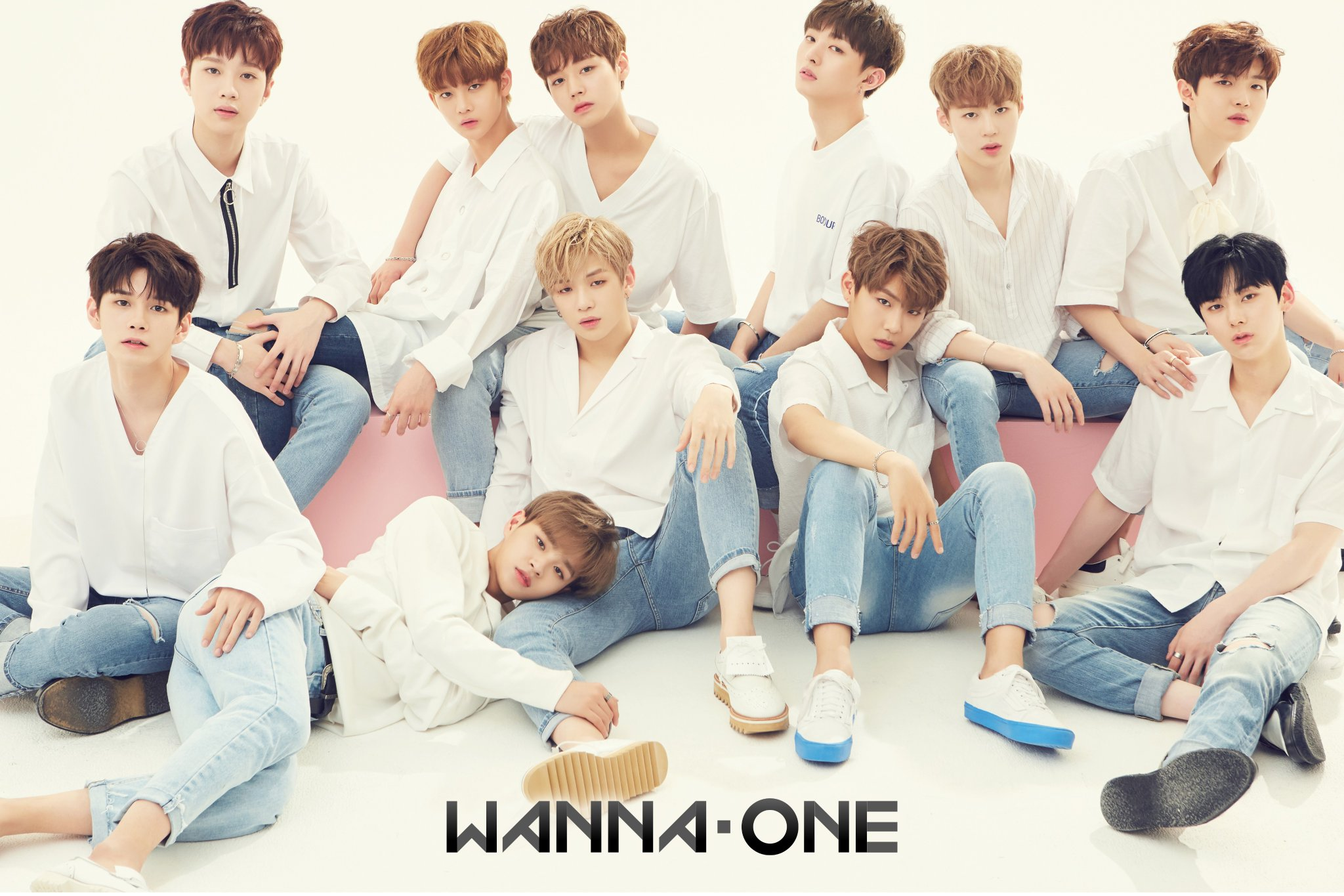 Wanna One Shows Off Chemistry In First Group Profile